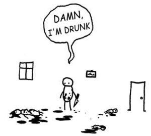 """""""Drunk"""" by (c) Hugleikur Dagsson"""